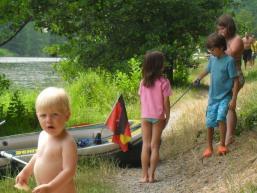 Kinderspaß am Sindersbachsee