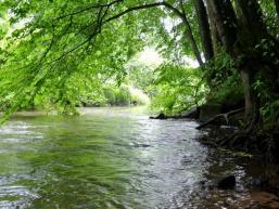 Schöner Rastplatz am Wasser