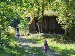 Wanderung ist auch mit Kindern und Kinderwagen machbar