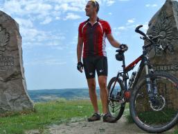 MTB Tour: Aussicht auf dem Sodenberg