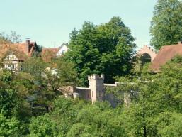 Wachturm an der Rienecker Stadtmauer