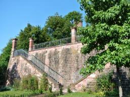 Der alte Ronkarzgarten in Gemünden
