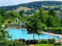 Schwimmbad in Frammersbach