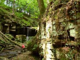 Ausflugsziel im Spessart: Der Trettstein
