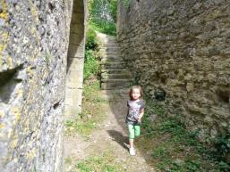Kinderspaß: Entdecken von alten Burgen