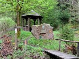 Pavillon im Fließenbachtal
