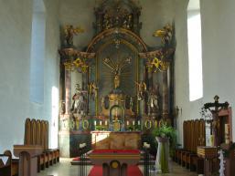 Hochaltar Kirche Rengersbrunn