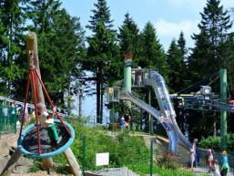 Kinderabenteuerspielplatz auf der Wasserkuppe / Rhön