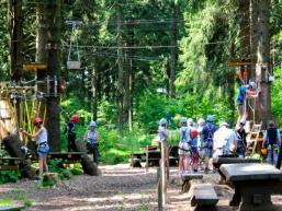 Erlebnis Kletterwald auf der Wasserkuppe
