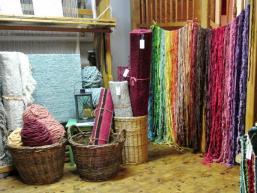 Handgewebte Webereiprodukte aus Hohenroth