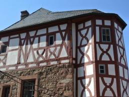 Fachwerk auf Wertheimer Burg