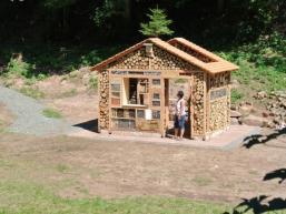 Über 53 m² Wohnfläche für Insekten
