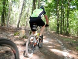 Mountainbiken im Spessart ist ein Erlebnis