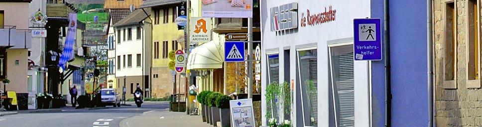 Einkaufsstraße in Burgsinn
