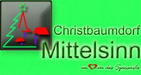 Deutschlands erstes Christbaumdorf - Christbaumdorf Mittelsinn im Spessart
