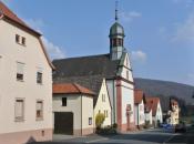 Das Dorf Schaippach im Sinngrund
