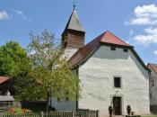 Weiler Heiligkreuz im Naturschutzgebiet Schondratal
