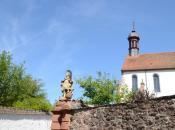 Kirchturm in Schönau