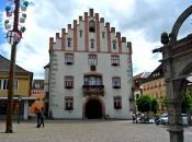 Der Marktplatz - zentraler Platz in Hammelburg